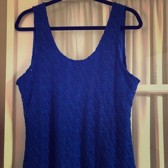 Apt. 9 Dresses & Skirts - Beautiful long blue fitted dress.